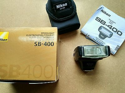 Nikon Speedlight SB-400 Shoe Mount Flash