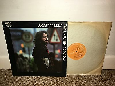 JONATHAN KELLY Twice Around The Houses LP 1972 UK 1st!!