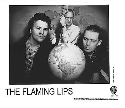 The Flaming Lips - Warner Brother Records Publicity Photo from 1999