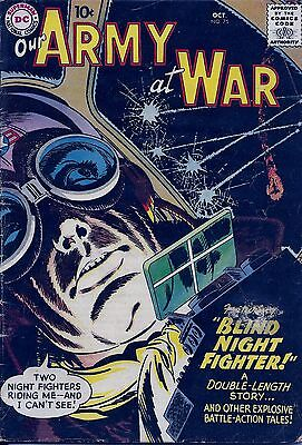 Our Army at War # 75  One Pilot All Alone in The Night ! FREE SHIPPING !