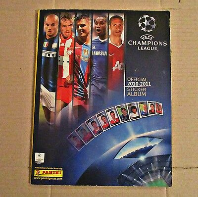 Champions League 2010-11 - Panini - Complete Album - Very, Very Good