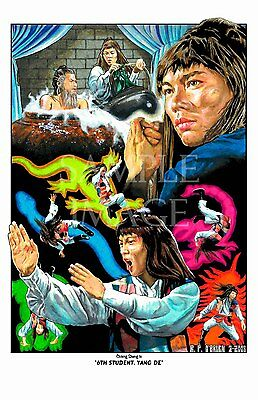 Five Deadly Venoms - 6th student Chiang Sheng, Shaw Brothers kung fu poster art