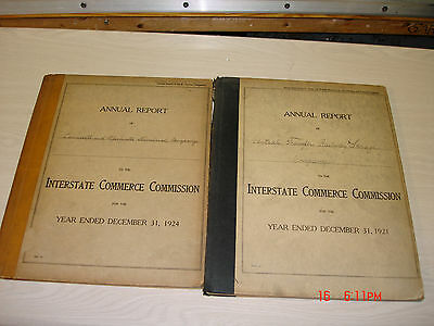 Railroad Annual Reports L&N and Central Transfer Railway Storage