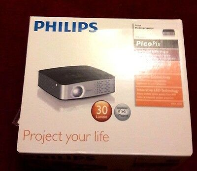 Philips PicoPix PPX1430 Pocket Projector NEW
