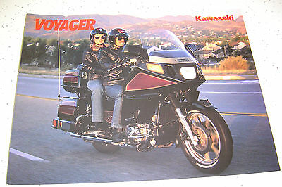 Kawasaki 1985 Voyager ZN1300-A3 NOS  Brochure 12 Pages