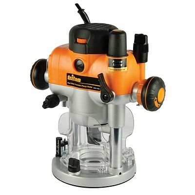 Triton Tools TRA001 3-1/4 HP Dual Mode Precision Plunge Router