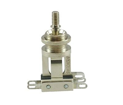 Switchcraft Short 3-Way Toggle Switch, For Les Paul, ES, SG, Tele Deluxe etc.