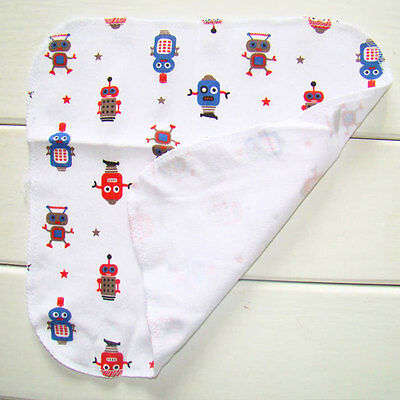 8Pcs/Pack 100% Cotton Newborn Baby Towels Nursing Girls Washcloth Handkerchief