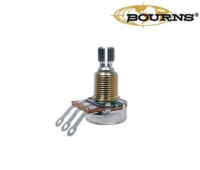 Bourns Mini Potentiometer, Split Shaft, 250K/500K, Audio or Linear Taper