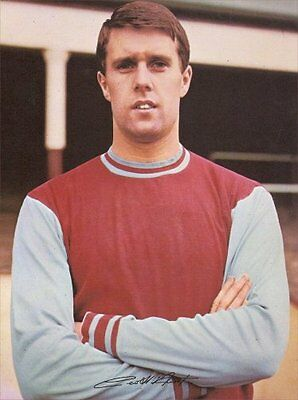 Fridge Magnet Football z Geoff Hurst West Ham 7cm x 4.5cm Sports Soccer Bespoked