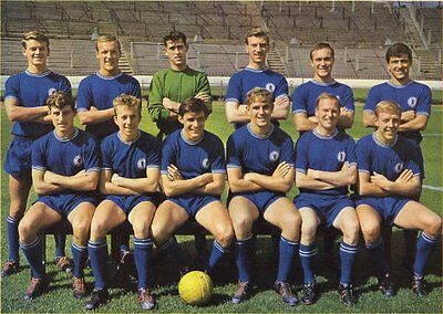 Fridge Magnet Football Chelsea 1963-64, Blues 7cm x 4.5cm Soccer Sport Bespoked
