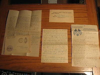3 WW1 LETTERS SGT. BERNICE PAYNE 322ND African American Labor Battalion AEF