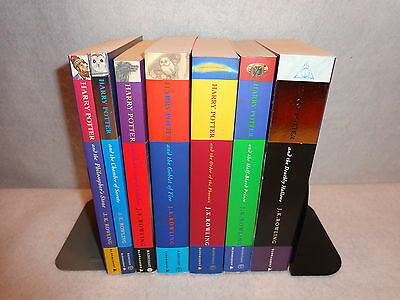 HARRY POTTER COMPLETE SET Books Yrs 1-7 All Paperback Mostly Unread Bloomsbury