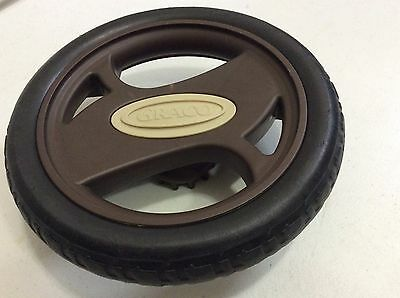 Replacement BACK WHEEL for Graco Quattro Stroller.