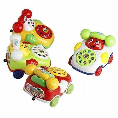 Music Cartoon Phone Baby Toy Gift Educational Kids Toys Developmental