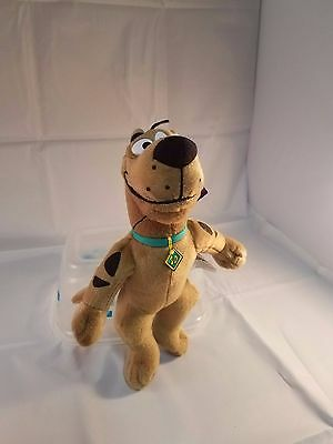 Scooby Doo upright plush ~ 10 inches NWT toy dog cartoon