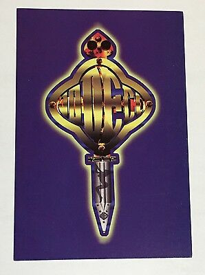 """Vintage 1990's JODECI """"The Show After Party The Hotel"""" Postcard NEW Unused RARE"""