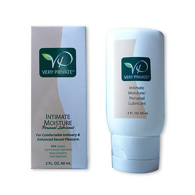 Menopause Lubricant by Very Private Intimate Moisture - Natural, FDA approved