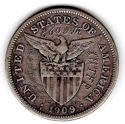 """IHTFP I Hate This F.....g Place On a 1909 Philippine Peso """"Beware 8609 Tr"""""""