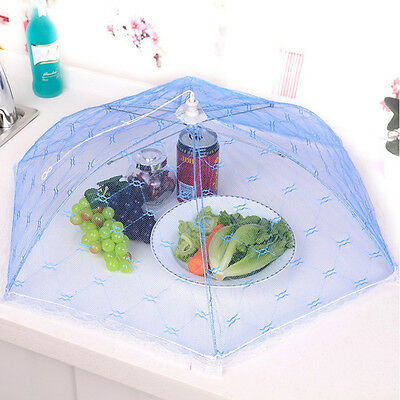 Kitchen Food Umbrella Cover Picnic Barbecue Party Fly Mosquito Mesh Net Tent e7