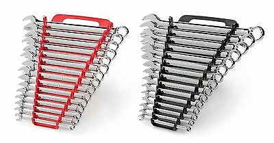 TEKTON 90191 Combination Wrench Set with Store and Go Keeper, Inch/Metric, 1/4-I