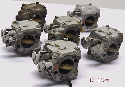 Aquascooter, 6 Used Carburetors, For As-400/450/500, Great For Rebuilding/parts