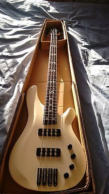 NEW 4 String Electric Bass Guitar With Active Pick upswHITE