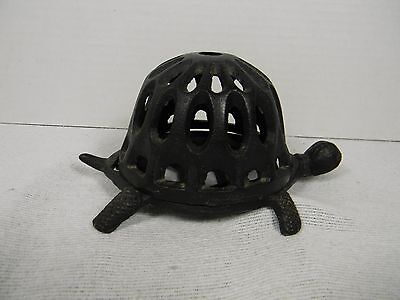 Vintage Cast Iron Turtle General Store Counter Top String Holder Puller