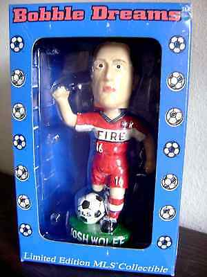 """Josh Wolff """"Fire"""" Limited Edition MLS Collectible Bobble Head"""
