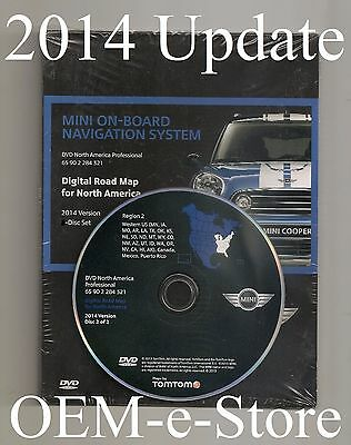 2008 2009 BMW MINI Cooper / S / Coupe Convertible Navigation DVD West Map Update