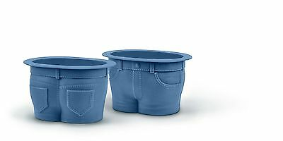 Fred and Friends, CA Muffin Tops Baking Cups, Set of 4