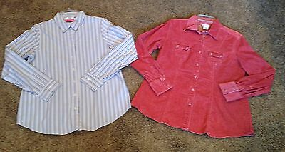 Size Medium Career Casual MATERNITY BLOUSE Shirt TOP Blouse LOT