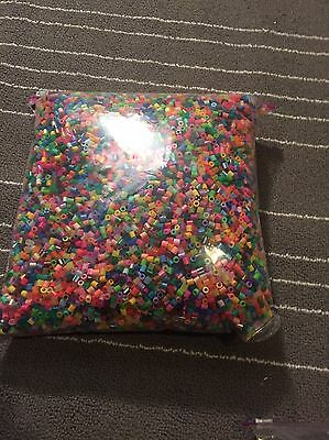 Huge 3 LB Lot of Perler Beads Assorted Colors