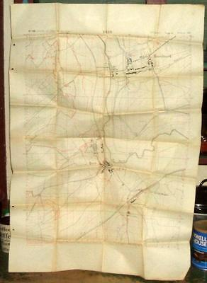 WWI Map No. 198 Brin (France)