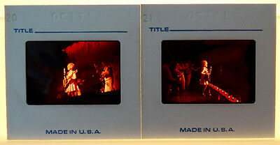 2 DOLLY PARTON Vintage UNPUBLISHED? 1971 CONCERT Photo Slide / COUNTRY MUSIC