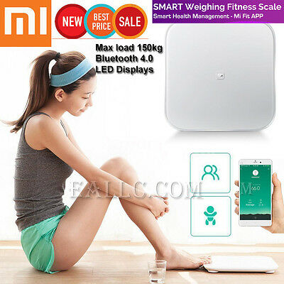 Bluetooth V4.0 Xiaomi Mi Digital Weight Smart Scale support Android 4.4 iOS 7.0