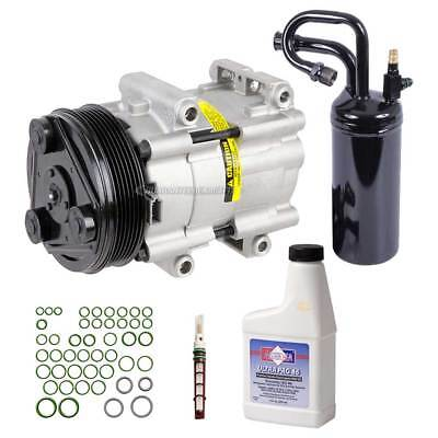 New Air Conditioning Compressor Kit - AC Compressor w/ Clutch Drier Oil & More