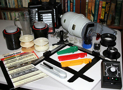 Photographic Developing and Enlarging Equipment