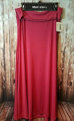 New With Tags Women's LulaRoe Maxi Size L