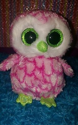 Ty Beanie Boos Claires Exclusive Bubbly The Owl Htf Nht
