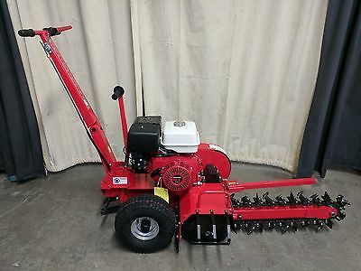 Hoc Dt70- 2017 Walk Behind Honda 13Hp Trencher + 3 Year Warranty + Free Shipping