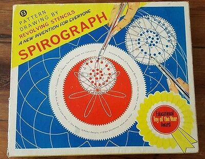 Vintage Denys Fisher 1960s Spirograph