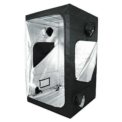 Greenception Box XL Growbox Growzelt Pflanzzelt 120x120x200cm Mylar Zuchtschrank