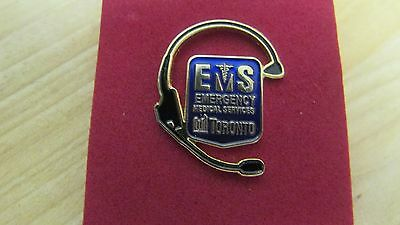 Emergency Medical Services Toronto Pin