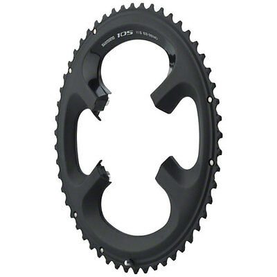 Shimano 105 FC-5800 Chainring 53T for 53-39T, Black, 11 Spd, FC-6800 Usable