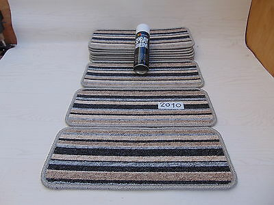 Carpet / Stair pads 50cm Wide 10 off  and  with a FREE  can of SPRAY GLUE 2010-1