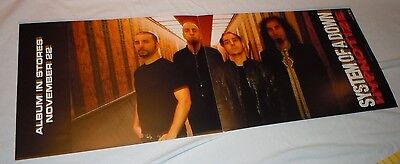SYSTEM OF A DOWN~Mezmerize~Promo Poster Flat~Double Sided~12x24~NM~2005