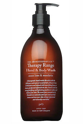 NEW The Aromatherapy Co Gifts Hand & Body Wash Sweet Lime & Mandarin LimeMand
