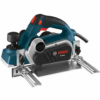 """3-1/4"""" Planer with Carrying Case Open Box Bosch Tools PL2632K New"""
