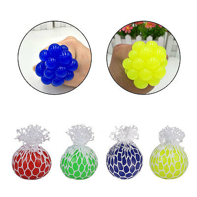 Gripper Anti Stress Reliever Ball Squeeze Fidget Sensory Toy Autism Xmas Gift